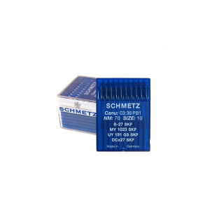 100 pc SCHMETZ sewing machine needles 2091 SES 175x7 TQx7 NM 70//10